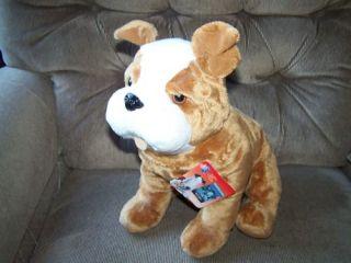 Kohls Cares for Kids Detective LaRue Bulldog Plush MWT