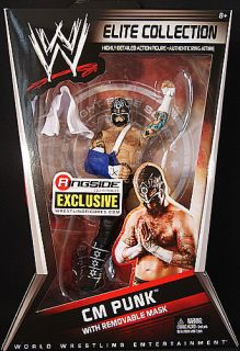 Cm Punk w Removable Mask Ringside Exclusive WWE Figure