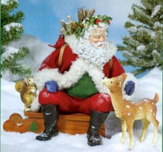 2005 Fabriche Circle of Friends Santa with Creatures