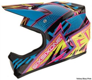 661 Evolution Full Face Helmet   New Wave 2010
