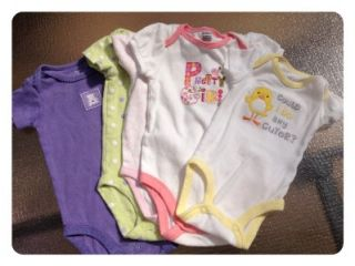 32pc Lot of Baby Girl Clothing Gap Gymboree Carters Old Navy Sz NB 3 6