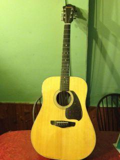 Ibanez Model V300 Acoustic Guitar with Hard Case