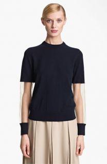 Michael Kors Illusion Sleeve Cashmere Sweater