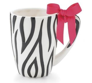Zebra Stripe Safari Animal Print Coffee Mug Cup Tea Mom Birthday Gift