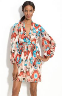 Laundry by Shelli Segal Print Chiffon Dress