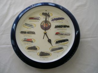 Lionel 13 5 Wall Clock Train Sounds on The Hour