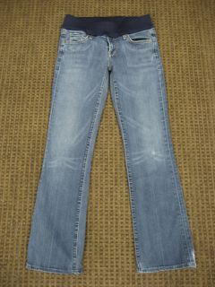 Citizens of Humanity Maternity Jeans Kelly Stretch Bootcut Caspian 30