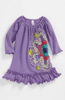 Love U Lots Ruffle Flower Dress (Infant)