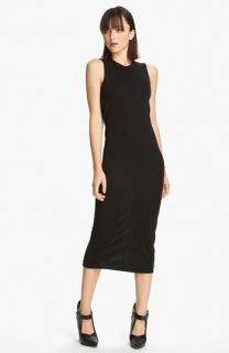 T by Alexander Wang Drape Back Jersey Dress