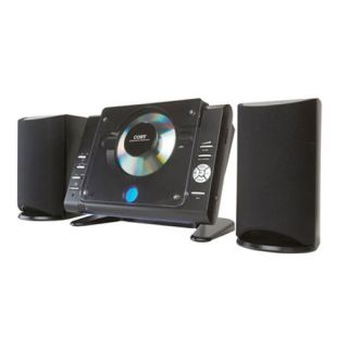 Coby Micro CD Player Radio HiFi Shelf System CXCD377BLK
