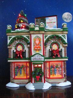 Dept 56 Snow Village City Lights Christmas Trimmings