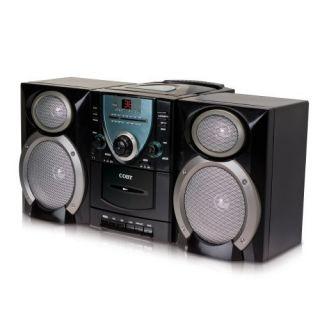 Coby Micro Shelf System Black CXCD400BLACK