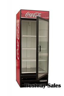 Beverage Air MT27 Coca Cola Glass Door Refrigerator Soda Merchandiser