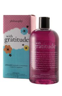 philosophy with gratitude high foaming shampoo, shower gel & bubble bath ( Exclusive)