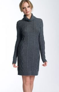 Design History Cable Knit Sweater Dress