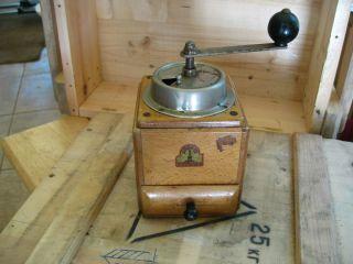 Vintage Armin Trosser Coffee Grinder Mill Hand Crank