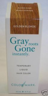 Colormark Gray Instant Touch Up Hair Color Golden Blond
