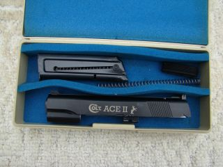 Colt Ace II 22LR Conversion Unit in Box Colt 1911 45 ACP