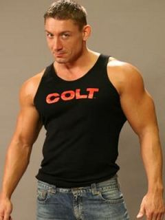 Colt Studio Group Black Tank Top Colt Studios Mens Gay