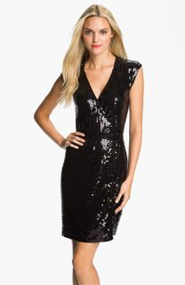 MICHAEL Michael Kors Sequin Wrap Dress