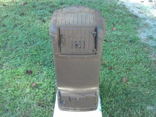RARE Vintage Warm Morning Stove Coal Wood Heater Model 414 A Good