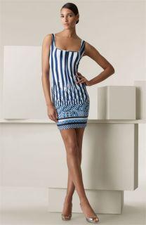 Roberto Cavalli Sorrento Print Stretch Jersey Dress