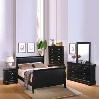Louis Philippe Full Bedroom Set by Coaster Furniture #201071F SET