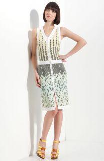 Versus Zip Front Print Dress