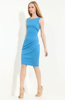 Emilio Pucci Ruched Stretch Wool Dress