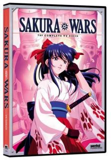 Sakura Wars Complete Series EP 1 25 Anime DVD R1 Sentai Filmworks