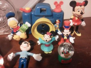 Large LOT of MICKEY MOUSE Walt Disney World Camera bank Puppet