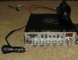 Cobra Sound Tracker 29 WX NW St Citizens Band CB Radio
