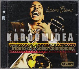 Alberto Barros Tributo A La Salsa Colombiana CD DVD