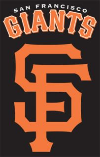 San Francisco Giants SF MLB Baseball Huge Embroidered Banner Flag