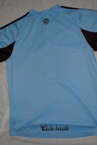 Colorado Rapids Football Shirt MLS Soccer Jersey Authentic Adidas Kit