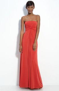 BCBGMAXAZRIA Strapless Jersey Dress