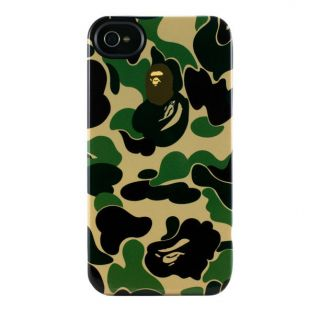 by Uncommon Bathing Ape iPhone 4 4S Camo Colored Case Skin Bape