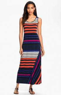 Calvin Klein Multi Stripe Tank Maxi Dress