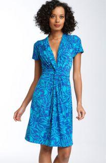 BCBGMAXAZRIA Twisted Knot Matte Jersey Dress