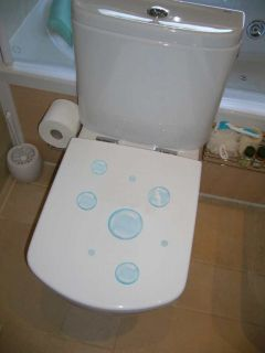 Pegatina Vinilo Decorativo Decoracion Paredes Infantil Baño WC