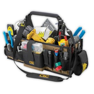 CLC 1530 23 Electricians Mechanic Maintenance 43 Pocket Tool Box Bag
