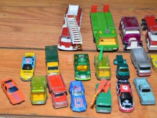 of vintage diecast cars trucks tootsie toy matchbox lesney collectible