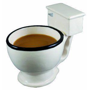 Collectible Toilet Coffee Mug