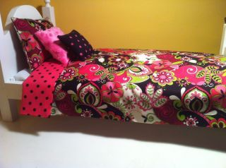 Doll Bedding for American Girl Doll Vera Bradley Style