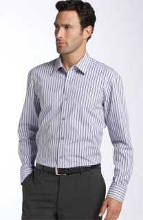 BOSS Black Lex Dobby Stripe Shirt