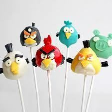 Angry Bird Cake PoP Recipe SUPER CUTE LOTS OF COMPLIMENTS ))