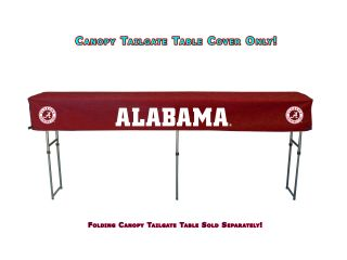 Crimson Tide NCAA 104 Tailgate Canopy Buffet & Bar Fitted Table Cover
