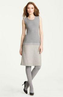 Fabiana Filippi Knit & Felt Wool Blend Dress
