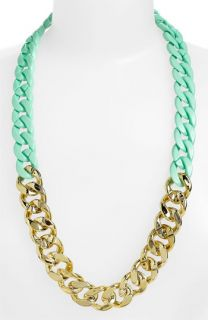 BP. Two Tone Chain Statement Necklace