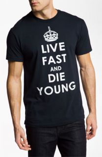 Kid Dangerous Grime Couture Live Fast Die Young Graphic T Shirt
